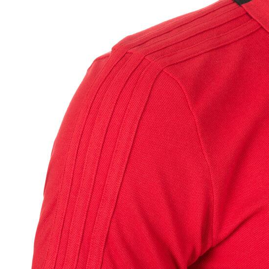 Condivo 18 Cotton Poloshirt Herren, rot / weiß, zoom bei OUTFITTER Online