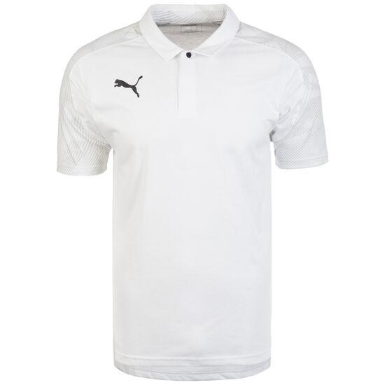 CUP Sideline Poloshirt Herren, weiß / hellgrau, zoom bei OUTFITTER Online