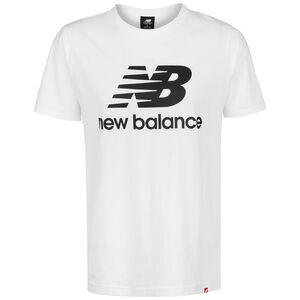 Essentials Stacked Logo T-Shirt Herren, weiß, zoom bei OUTFITTER Online