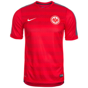 Eintracht Frankfurt Pre-Match Trainingsshirt Herren, Rot, zoom bei OUTFITTER Online