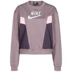 Heritage Fleece Sweatshirt Damen, flieder / weiß, zoom bei OUTFITTER Online