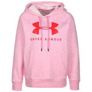 Rival Fleece Sportstyle Graphic Logo Kapuzenpullover Damen, rosa / pink, zoom bei OUTFITTER Online