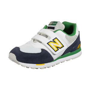 YV574-M Sneaker Kinder, dunkelblau / weiß, zoom bei OUTFITTER Online