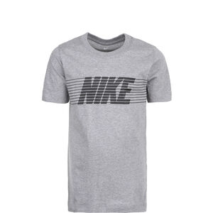 Sportswear T-Shirt Kinder, grau / schwarz, zoom bei OUTFITTER Online