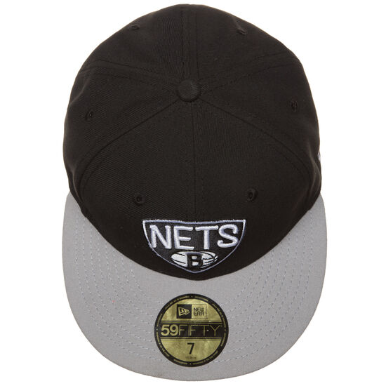 59FIFTY NBA Basic Brooklyn Nets Cap, Schwarz, zoom bei OUTFITTER Online