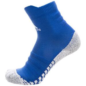 AlphaSkin Traxion Lightweight Cushioning Crew Socken, blau / weiß, zoom bei OUTFITTER Online
