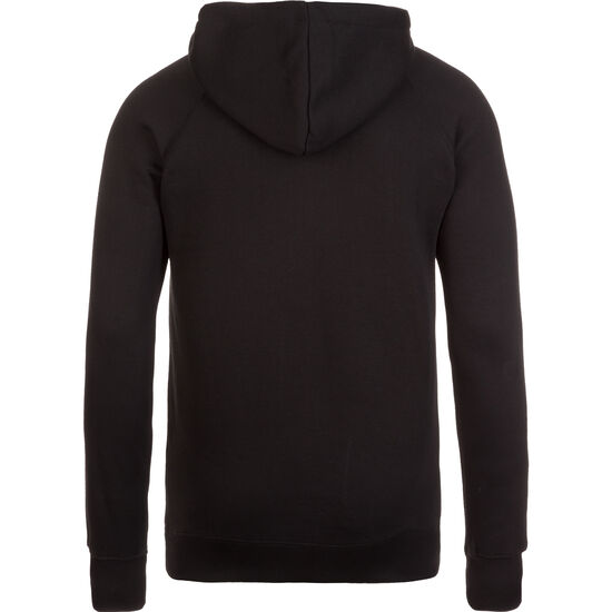 Hoodie Kapuzenpullover Herren, schwarz / rot / weiß, zoom bei OUTFITTER Online