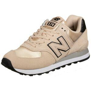 WL574 Sneaker Damen, beige / altrosa, zoom bei OUTFITTER Online