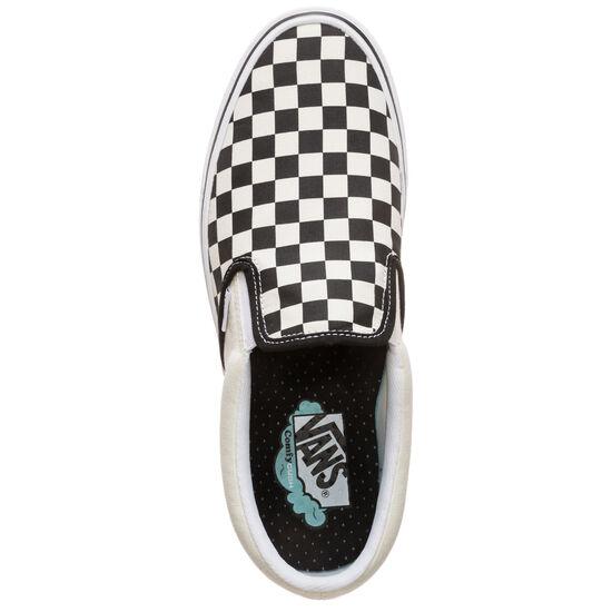 Slip-On ComfyCush Sneaker, weiß / schwarz, zoom bei OUTFITTER Online