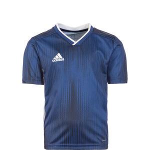 Tiro 19 Fußballtrikot Kinder, dunkelblau / weiß, zoom bei OUTFITTER Online