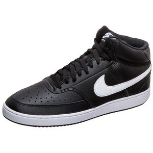 Court Vision Mid Sneaker Herren, schwarz / weiß, zoom bei OUTFITTER Online