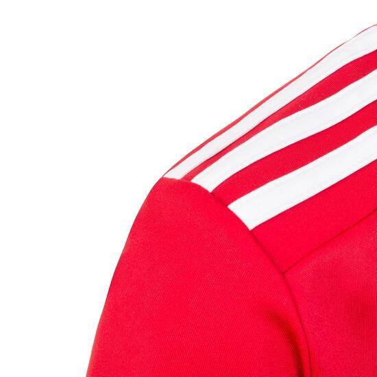 Striped 19 Fußballtrikot Kinder, rot / weiß, zoom bei OUTFITTER Online