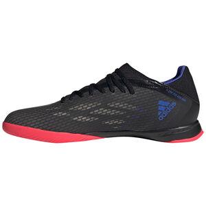 X Speedflow.3 Indoor Fußballschuh Herren, schwarz / blau, zoom bei OUTFITTER Online
