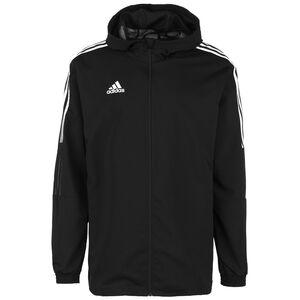 Tiro 21 Trainingsjacke Herren, schwarz / weiß, zoom bei OUTFITTER Online