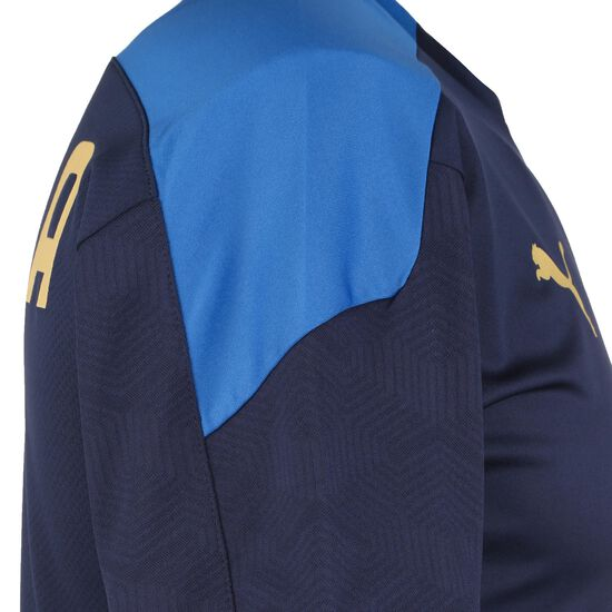 FIGC Italien Trainingsshirt EM 2021 Herren, dunkelblau / blau, zoom bei OUTFITTER Online