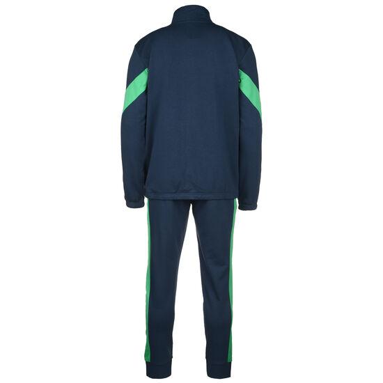 Cotton TS Jogginganzug Herren, dunkelblau / grün, zoom bei OUTFITTER Online