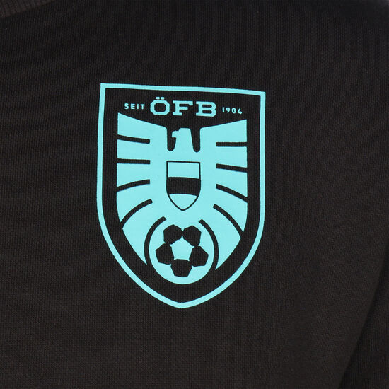 ÖFB Österreich FtblCulture Sweatshirt EM 2020 Herren, schwarz / türkis, zoom bei OUTFITTER Online