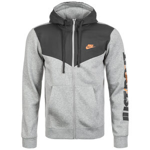 Just Do It Fleece Kapuzenjacke Herren, grau / anthrazit, zoom bei OUTFITTER Online