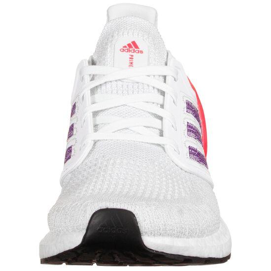Ultraboost 20 Laufschuh Damen, weiß / lila, zoom bei OUTFITTER Online