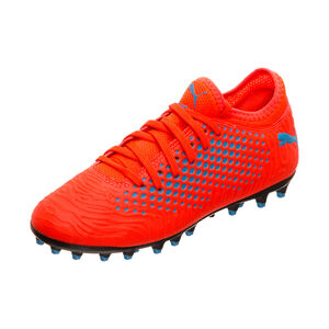 Future 19.4 MG Fußballschuh Kinder, rot / blau, zoom bei OUTFITTER Online