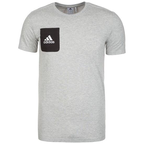 Tiro 17 T-Shirt Herren, grau / schwarz, zoom bei OUTFITTER Online