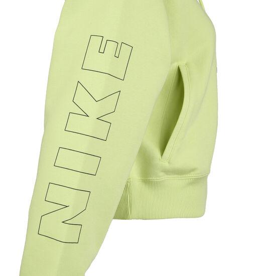 Air Fleece Kapuzenpullover Damen, hellgrün, zoom bei OUTFITTER Online