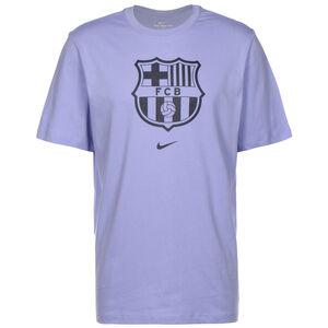 FC Barcelona Evergreen Crest T-Shirt Herren, flieder, zoom bei OUTFITTER Online