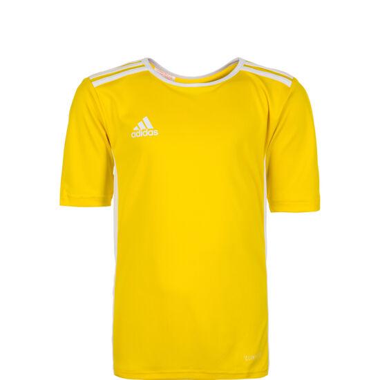 Entrada 18 Fußballtrikot Kinder, gelb / weiß, zoom bei OUTFITTER Online