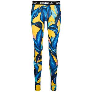 Tight Leggings Damen, gelb / blau, zoom bei OUTFITTER Online