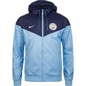 Manchester City Windrunner Kapuzenjacke Herren, Blau, zoom bei OUTFITTER Online