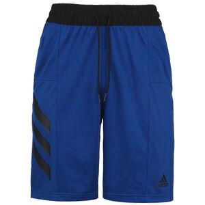 Sport 3-Streifen Basketballshort Herren, blau / schwarz, zoom bei OUTFITTER Online