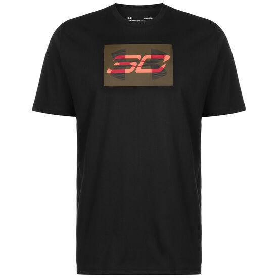 SC30 Overlay Basketballshirt Herren, schwarz / rot, zoom bei OUTFITTER Online