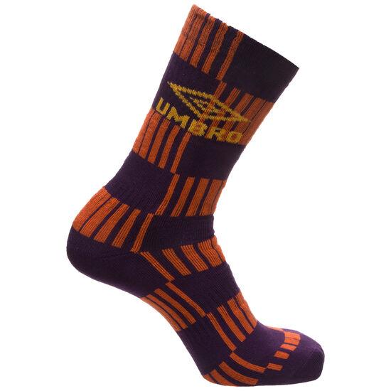 Flatliner Socken, orange / lila, zoom bei OUTFITTER Online