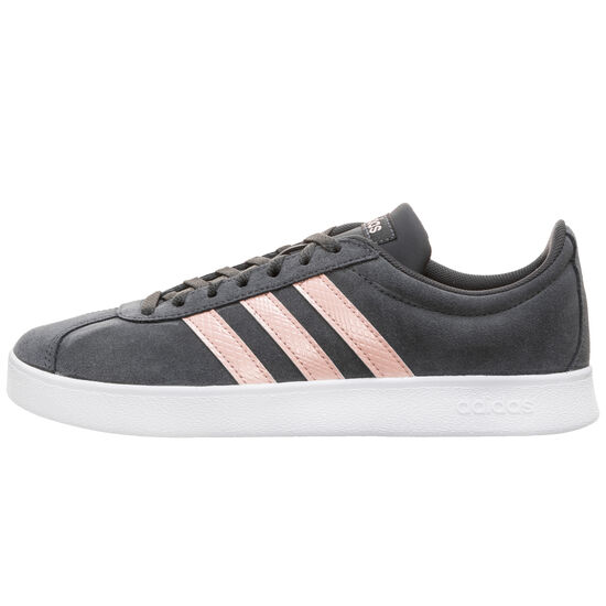 VL Court 2.0 Sneaker Damen, schwarz / pink, zoom bei OUTFITTER Online