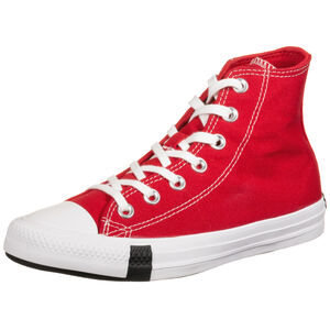 Chuck Taylor All Star Multi Logo High Sneaker Damen, rot / bunt, zoom bei OUTFITTER Online