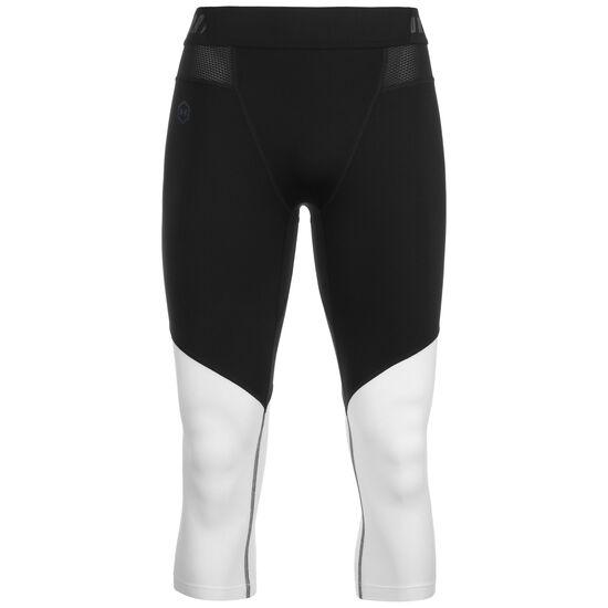 SC30 3/4 Trainingstight Herren, schwarz / weiß, zoom bei OUTFITTER Online