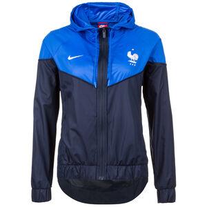 Frankreich Windrunner Kapuzenjacke Damen, Blau, zoom bei OUTFITTER Online