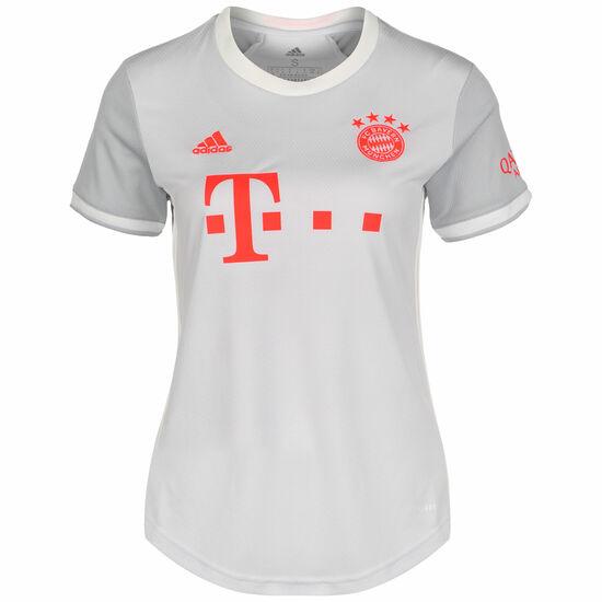 FC Bayern München Trikot Away 2020/2021 Damen, hellgrau / orange, zoom bei OUTFITTER Online