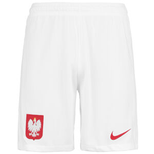 Polen Shorts Home/Away Stadium EM 2021 Herren, weiß / rot, zoom bei OUTFITTER Online