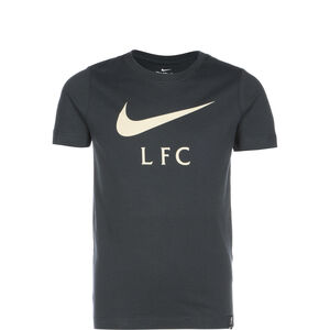 FC Liverpool Swoosh Club T-Shirt Kinder, anthrazit, zoom bei OUTFITTER Online