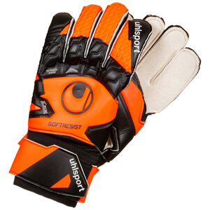 Soft Resist Torwarthandschuh, schwarz / orange, zoom bei OUTFITTER Online