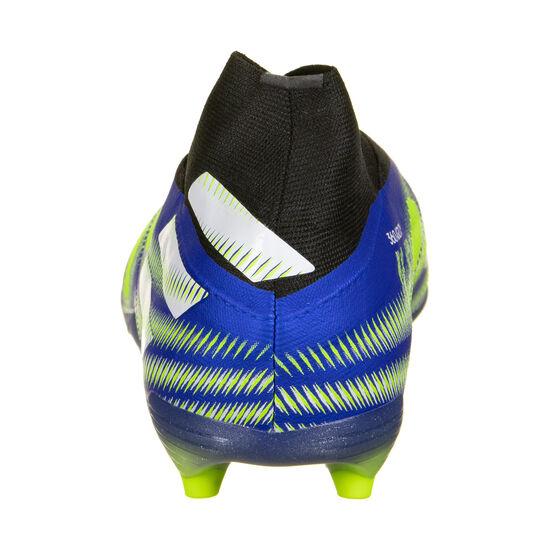 Nemeziz + FG Fußballschuh Kinder, blau / neongelb, zoom bei OUTFITTER Online