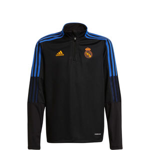 Real Madrid Trainingssweat Kinder, schwarz / blau, zoom bei OUTFITTER Online