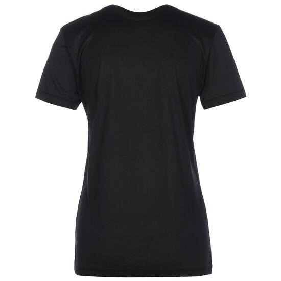Icon Clash Trainingsshirt Damen, schwarz / rot, zoom bei OUTFITTER Online