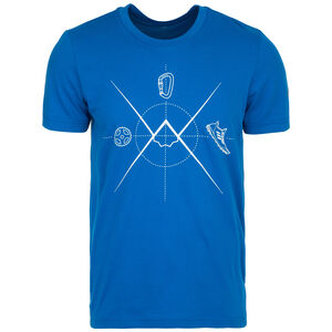 Ascend Trainingsshirt Herren, blau, zoom bei OUTFITTER Online