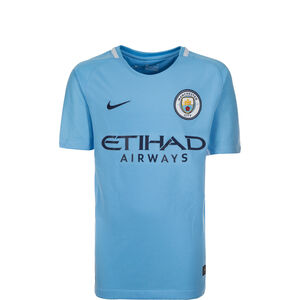 Manchester City Trikot Home 2017/2018 Kinder, Blau, zoom bei OUTFITTER Online