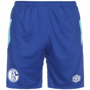 FC Schalke 04 Trainingsshorts Herren, blau / hellblau, zoom bei OUTFITTER Online
