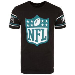 NFL Badge Philadelphia Eagles T-Shirt Herren, schwarz / petrol, zoom bei OUTFITTER Online