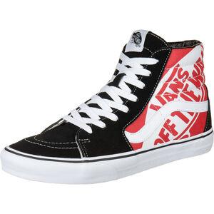 Sk8-Hi Sneaker Herren, rot / schwarz, zoom bei OUTFITTER Online