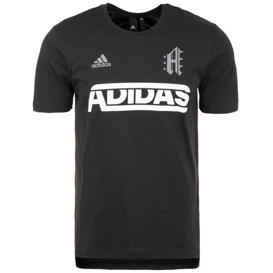 Sport ID Jersey Trainingsshirt Herren, schwarz / weiß, zoom bei OUTFITTER Online